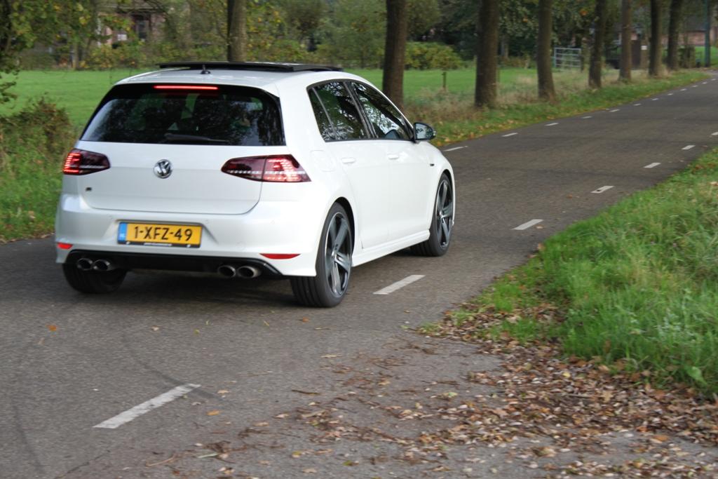 Volkswagen Golf R achterzijde