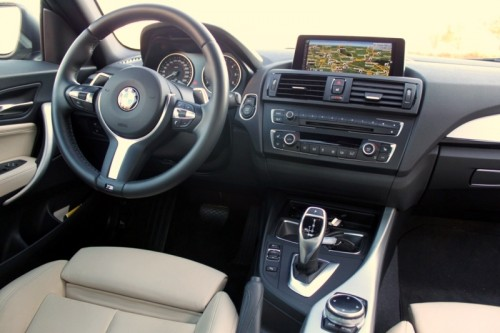 BMW 220d coupe - rijtest Driveaholic.nl (interieur)