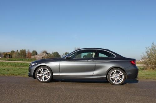 BMW 220d coupe - rijtest Driveaholic.nl