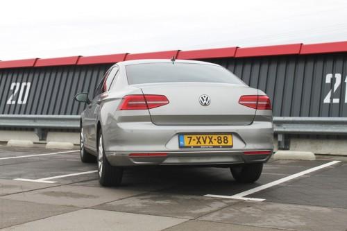 Achterkant VW Passat