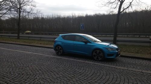 Een hothatch moet alles kunnen: ook Autobahnbrennen