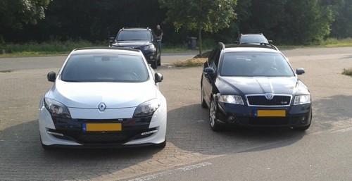 Octavia RS versus Megane RS