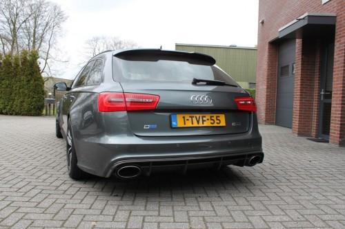 Audi S6 uitlaat