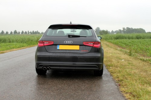 Foto achterkant Audi A3