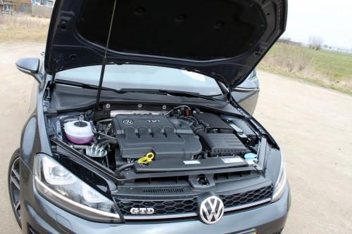 Foto motorblok Volkswagen Golf GTD