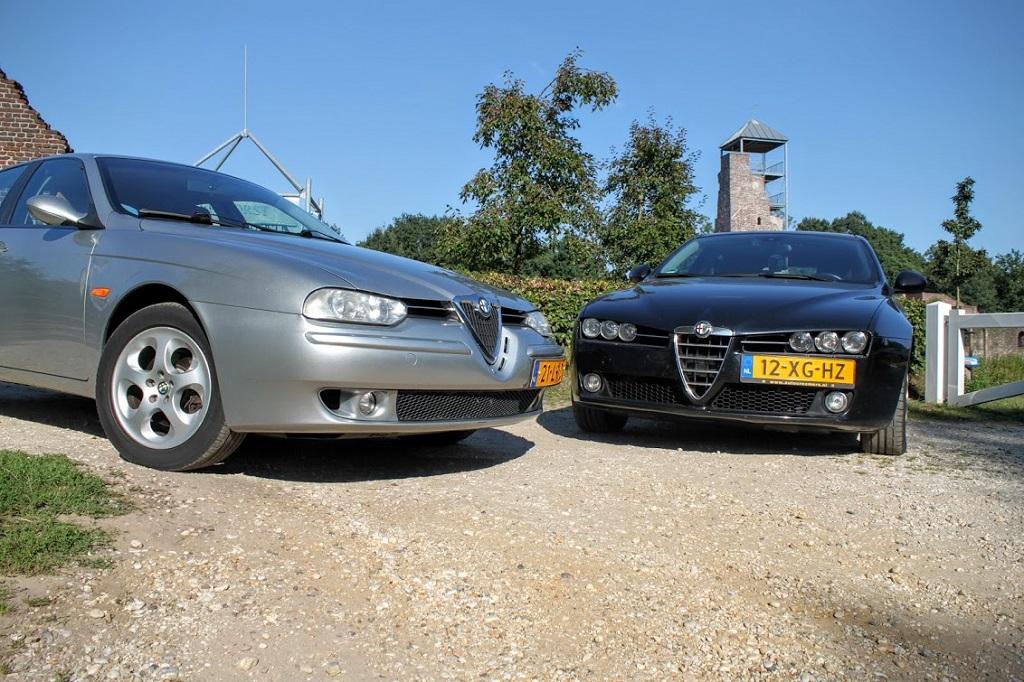 Foto Alfa 156 en Alfa 159
