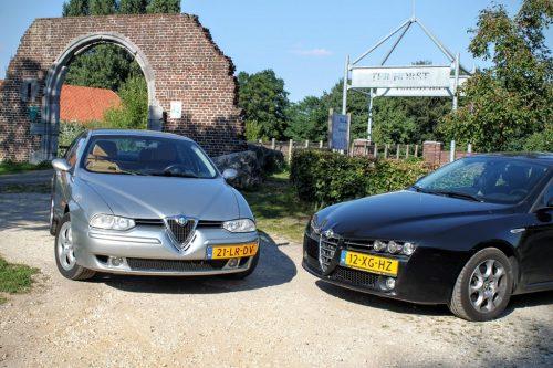 Foto Alfa Romeo 156 en 159