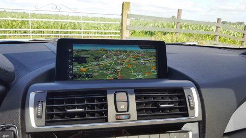 Foto BMW navigatiesysteem