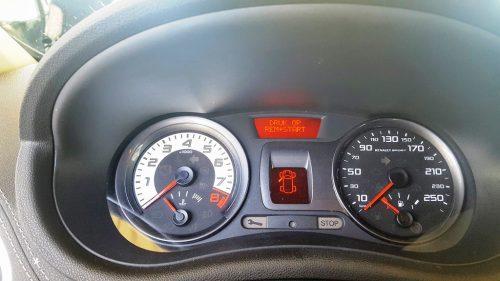 Foto toerenteller Renault Clio RS
