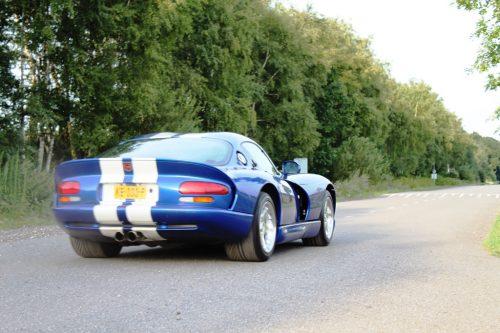 Foto Dodge Viper achterkant