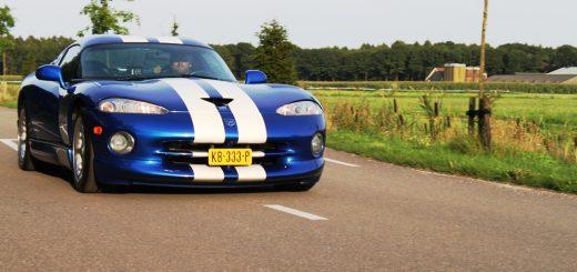 Foto Dodge Viper voorkant