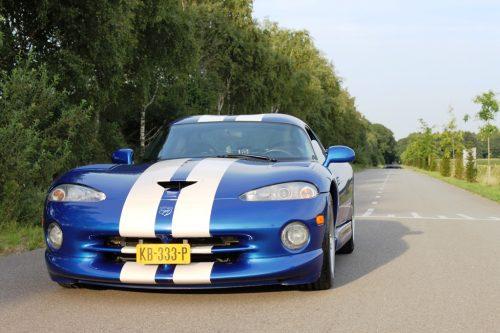 Foto voorkant Dodge Viper