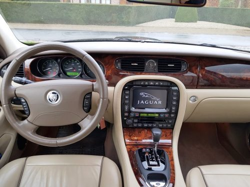 Jaguar XJ interieur