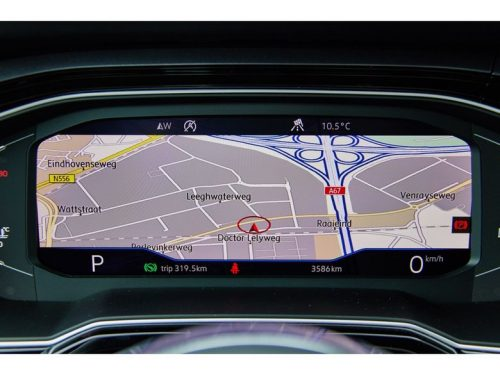 Virtual cockpit Volkswagen Polo