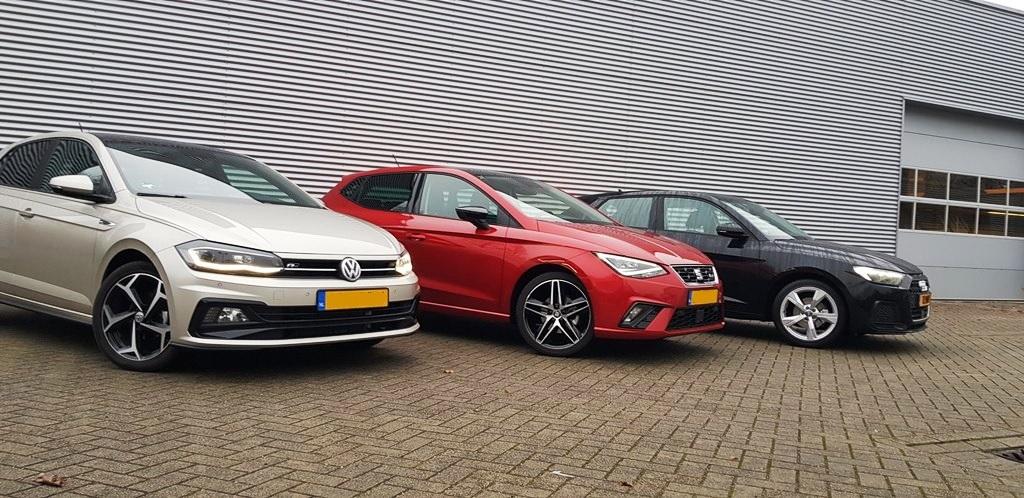 Audi A1 vs SEAT Ibiza vs Volkswagen Polo