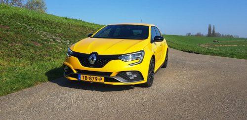 Foto voorkant Renault Megane RS