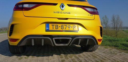 Foto uitlaat Renault Megane RS