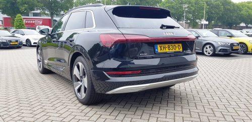 Foto achterkant Audi e-Tron
