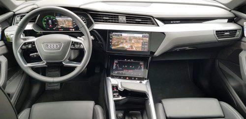 Foto interieur Audi e-Tron
