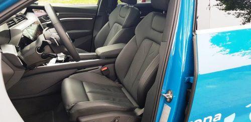 Foto stoelen Audi e-Tron