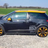 Foto zijkant Citroën DS3 Racing