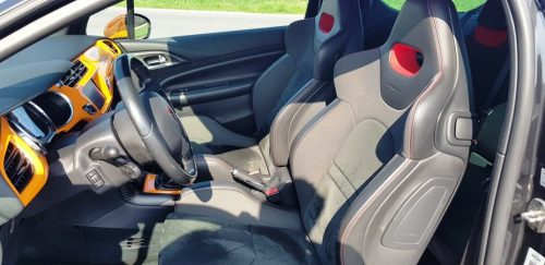 Foto stoelen Citroën DS3 Racing