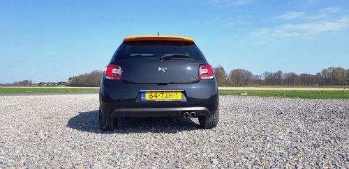 Foto achterkant Citroën DS3 Racing