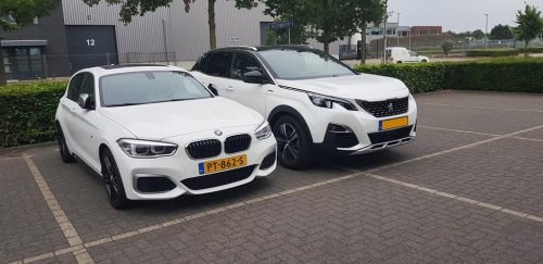 BMW M140i en Peugeot 3008