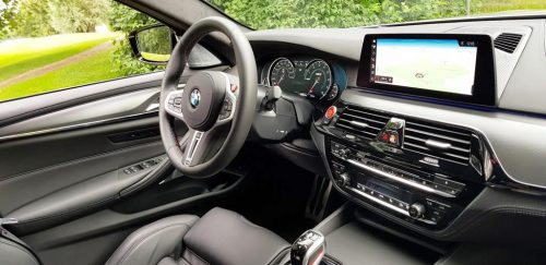 Foto interieur BMW M5 Competition