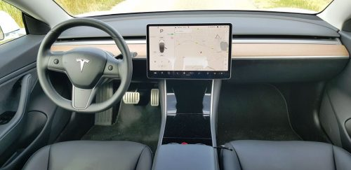 Foto interieur Tesla Model 3