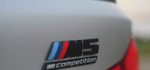 Foto logootje BMW M5 Competition