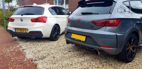 Foto BMW M140i en SEAT Leon CUPRA R