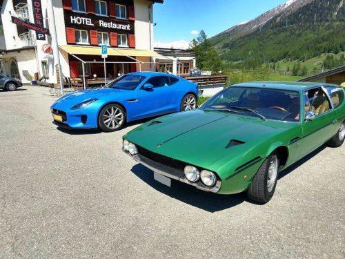 Foto Lamborghini en Jaguar