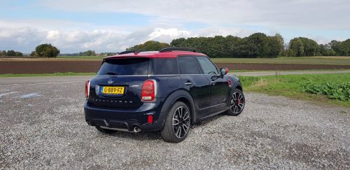 Foto uitlaten Mini Countryman