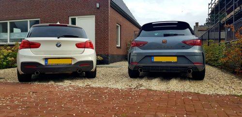SEAT Leon CUPRA R en BMW M140i