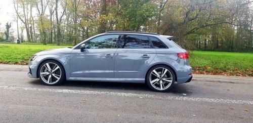 Audi RS3 zijkant