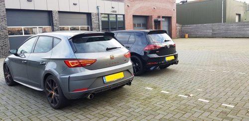 Volkswagen Golf GTI TCR en SEAT Leon CUPRA R
