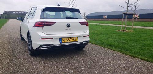 Foto achterkant Volkswagen Golf 2020