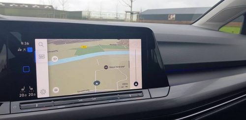Foto scherm Volkswagen Golf 2020