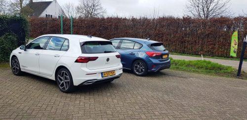 Volkswagen Golf en Ford Focus