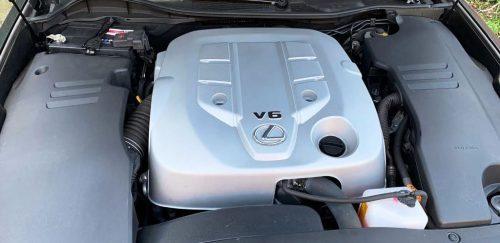 Foto motorruimte Lexus GS 300