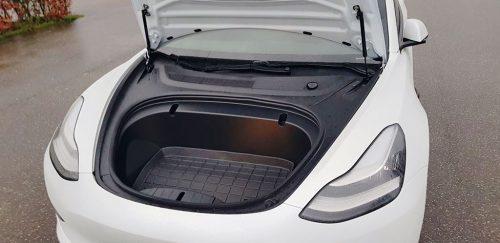 Extra laadruimte Tesla Model 3