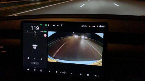 Foto scherm Tesla Model 3