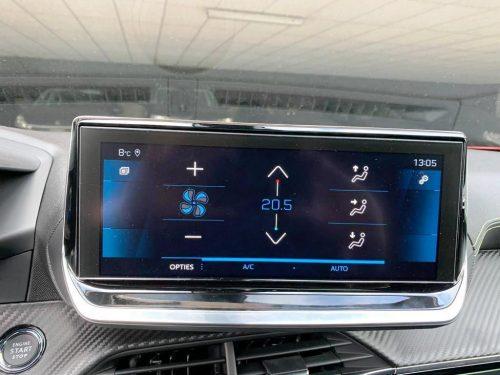 Foto scherm Peugeot 2008