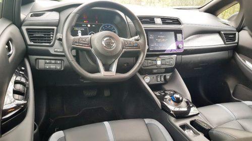 Foto dashboard Nissan Leaf