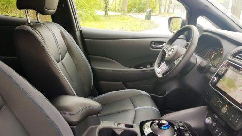 Foto stoelen Nissan Leaf