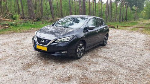 Foto voorkant Nissan Leaf