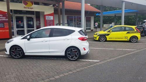 Ford Fiesta ST versus voorganger