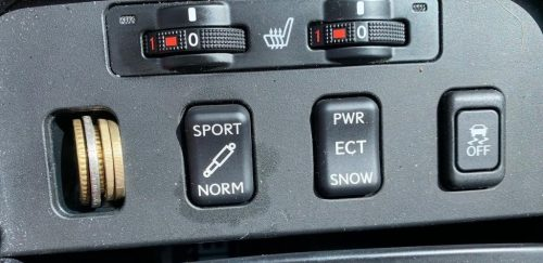 De Toyota-eske knopjes in de Lexus GS 300