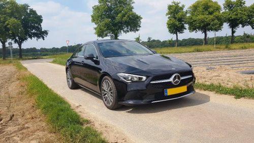 Foto voorkant Mercedes-Benz CLA 180